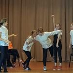 Improvizācijas pulciņa aktivitātes skolās.