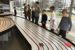 Latvijas skolēnu sacensības trases automodelismā. 2020. gada 8. februārī