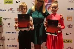 Sporta deju kluba audzēkņi  LATVIA OPEN 2019